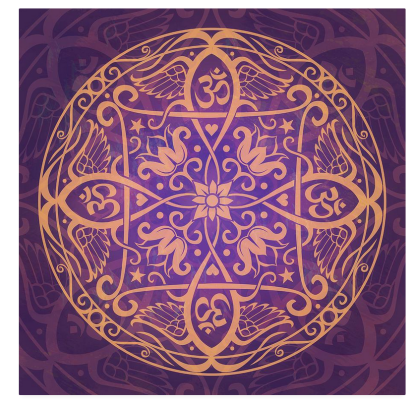 Digital art mandala 4