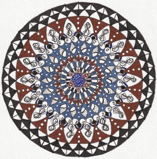Rescue Mandala - Aura-Soma Bottle B00