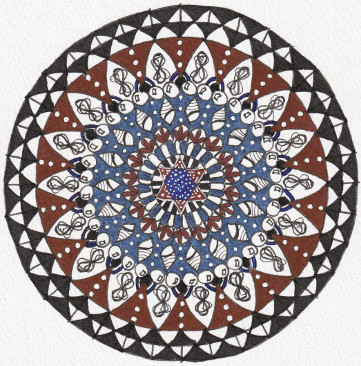 Rescue Mandala - Aura-Soma Bottle B00