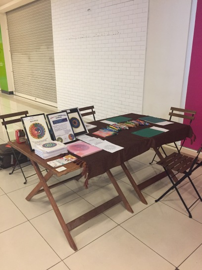 Mandala colouring workshop - Day 2