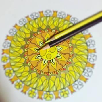 Sunlight mandala WIP