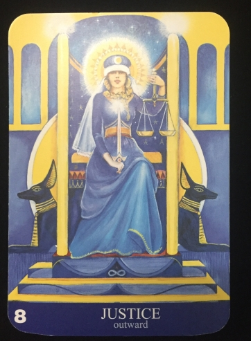 Major Arcana - Justice card