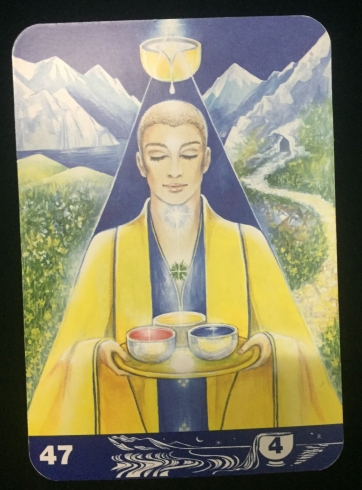Minor Arcana - 4 of cups